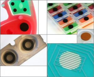Examples of Silicone Rubber Keypads Design Options: Electrical
