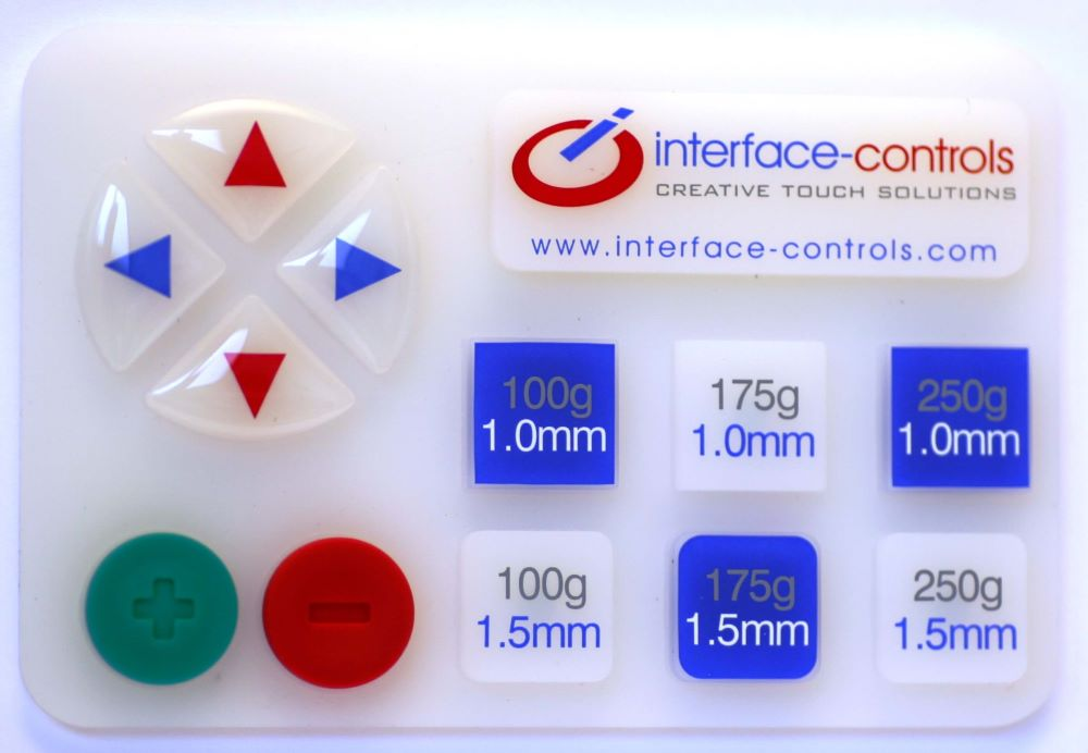 Design Sample Keypad for Evaluation